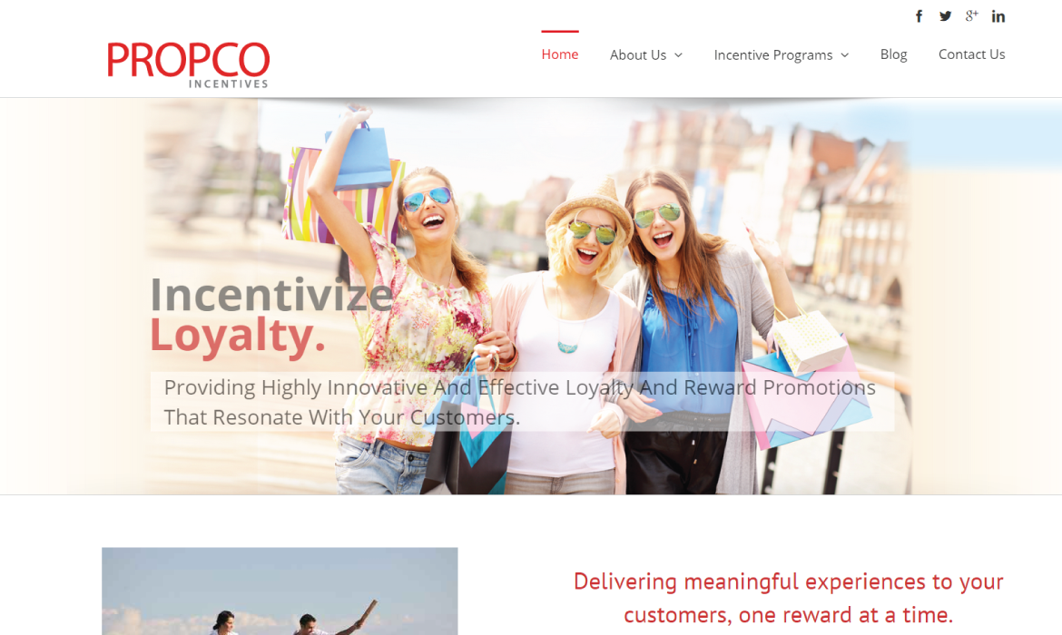 Propco Incentives Website