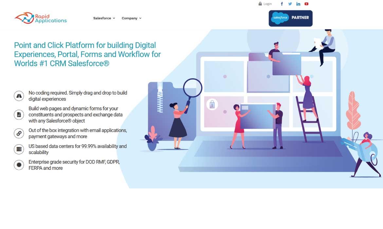 Rapid Applications Website